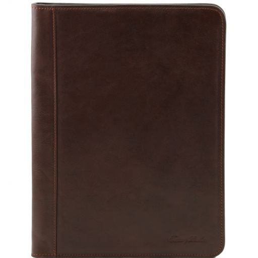 Ottavio Vegetable Tanned Leather Document Case_1