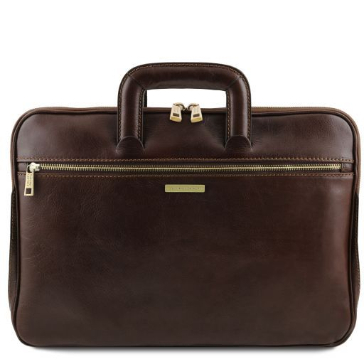 Caserta Vegetable Tanned Leather Leather Briefcase_10