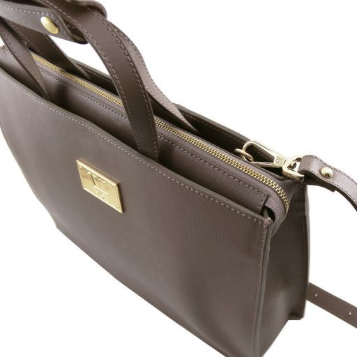 Palermo Saffiano Leather Briefcase  For Women_6