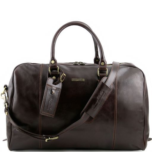 TL Voyager - Travel leather duffle bag_11