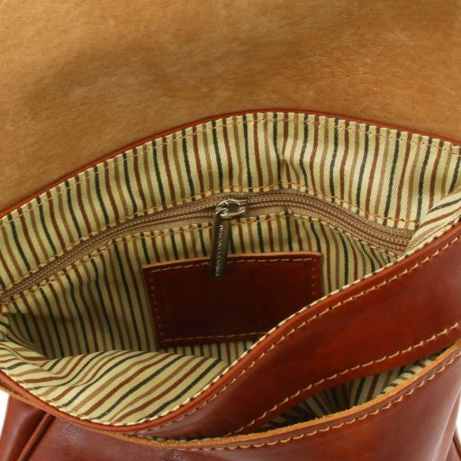 Joe Vegetable Tanned Leather Crossbody Bag _4