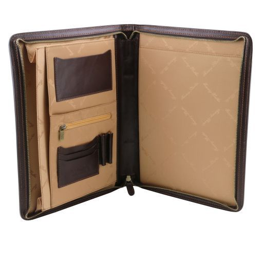 Ottavio Vegetable Tanned Leather Document Case_5