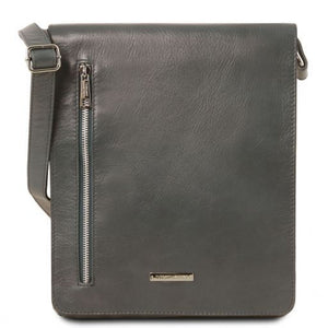 Cesare Soft Leather Messenger Bag_1