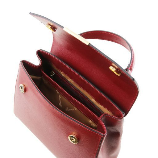 TL Small Saffiano leather Top Handle Bag_4
