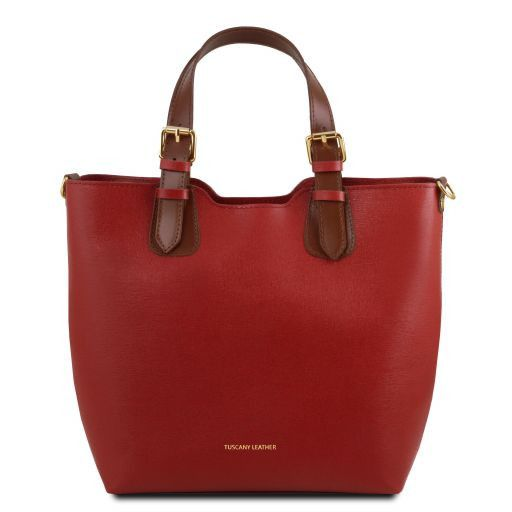 TL Saffiano Leather Tote_24