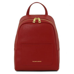 TL Small Saffiano Leather Backpack For Women_1