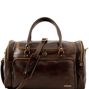 Praga - Travel leather bag_1