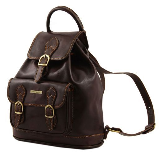 Singapore Vegetable Tanned Leather Backpack_5