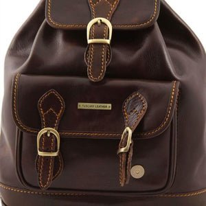 Singapore Vegetable Tanned Leather Backpack_2