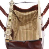 Barcellona - Double-bottom Gladstone Leather Bag_6