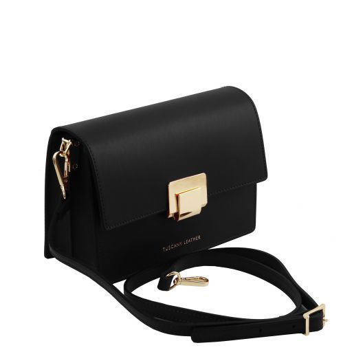 Adele Smooth Leather Clutch_16