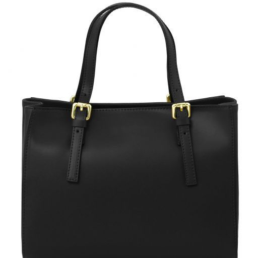 Aura Smooth Leather Satchel_19