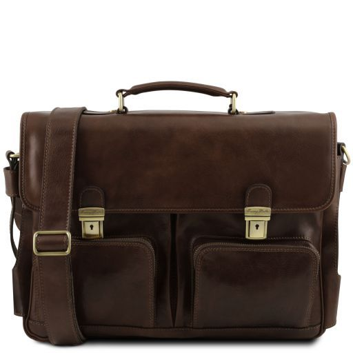 Ventimiglia Vegetable Tanned Leather TL SMART Briefcase_15