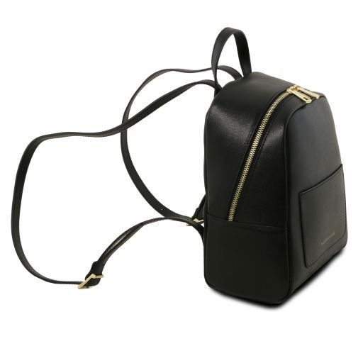 TL Small Saffiano Leather Backpack For Women_12