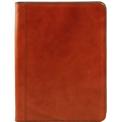 Ottavio Vegetable Tanned Leather Document Case_8