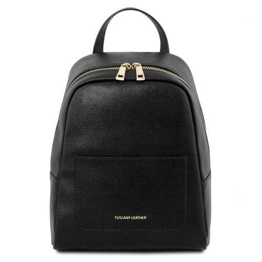 TL Small Saffiano Leather Backpack For Women_11