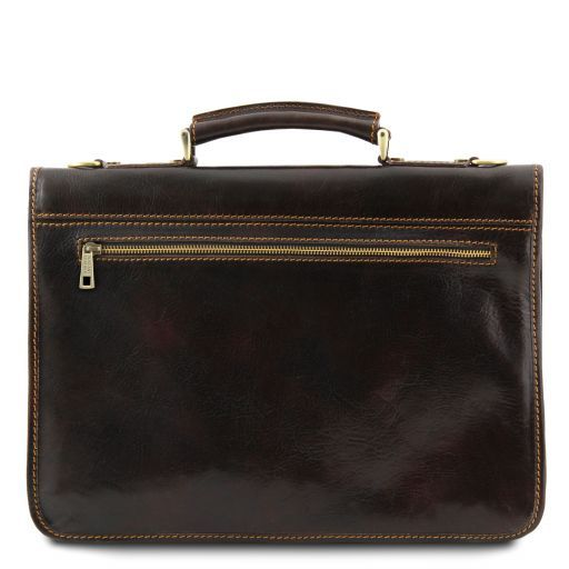 Torino Vegetable Tanned Leather Briefcase_5