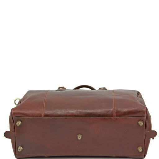 TL Voyager - Travel leather duffle bag_3