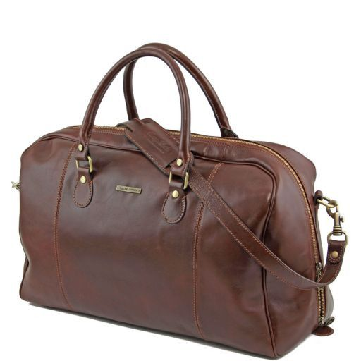 TL Voyager - Travel leather duffle bag_6