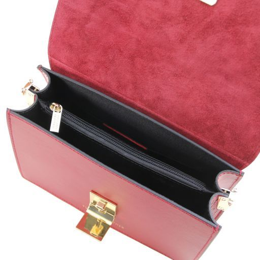 Adele Smooth Leather Clutch_6