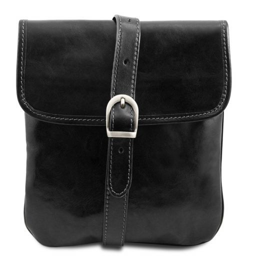 Joe Vegetable Tanned Leather Crossbody Bag _7