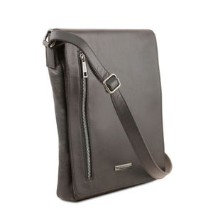 Cesare Soft Leather Messenger Bag_2