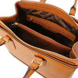 TL Saffiano Leather Satchel _4