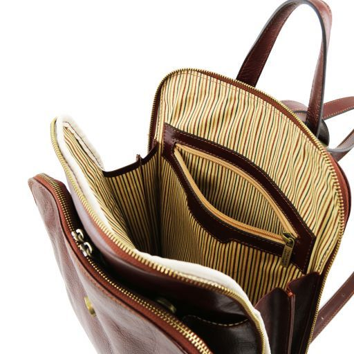 Taipei Vegetable Tanned Leather Backpack_5