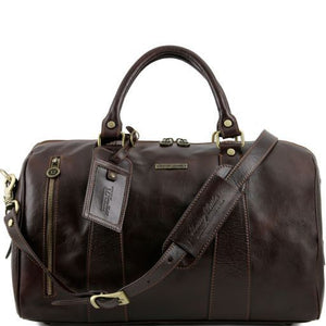 TL Voyager - Travel leather duffle bag - Small size_1