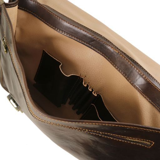 Firenze Vegetable Tanned Leather Briefcase_4