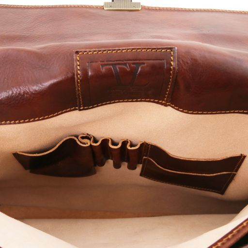 Roma Vegetable Tanned Leather Briefcase_6