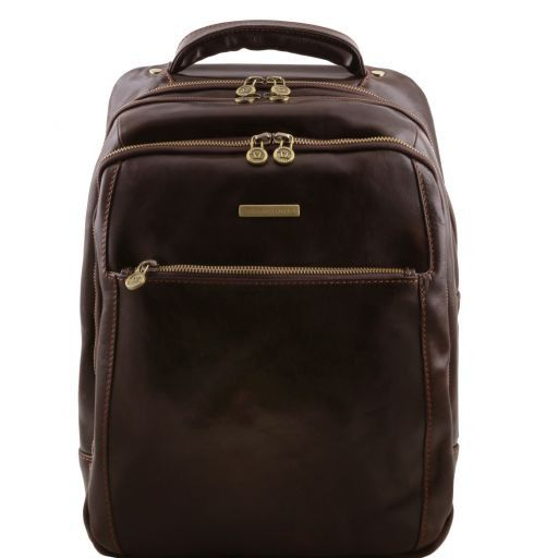 Phuket Vegetable Tanned Leather Laptop Backpack_13