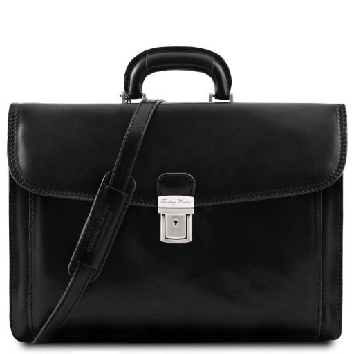 Napoli Vegetable Tanned Leather Briefcase_8