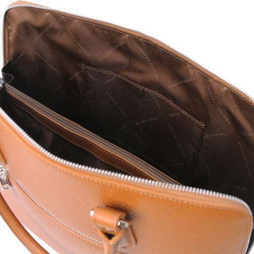 Magnolia Hammered Leather Women Business Bag _13