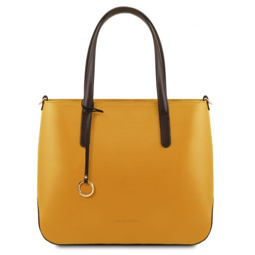 Penelope  Smooth Leather tote_7