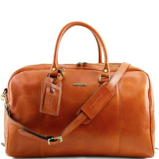 TL Voyager - Travel leather duffle bag_14
