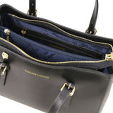 Aura Smooth Leather Satchel_21