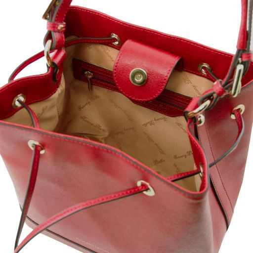 Minerva Saffiano Leather Bucket Bag_5