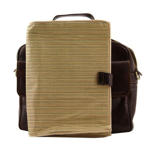 Reggio Emilia Vegetable Tanned Leather Laptop Case_8