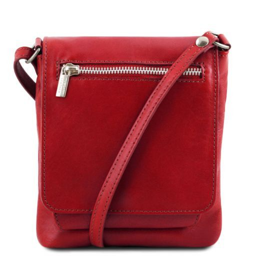 Sasha Unisex Soft Leather Messenger Bag_10