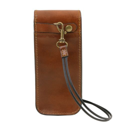 Exclusive Full Grain Leather eyeglasses/Smartphone/Watch holder_3