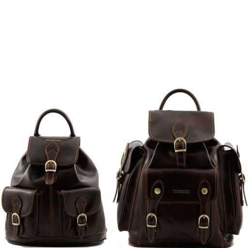 Trekker - Travel set Leather backpacks_12