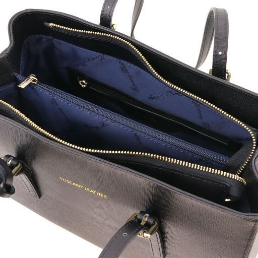 TL Saffiano Leather  Work Tote _18
