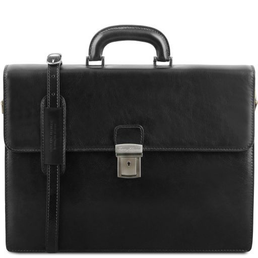 Parma Vegetable Tanned Leather Briefcase _8