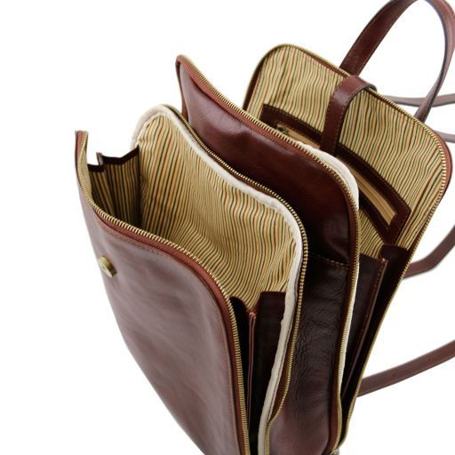 Taipei Vegetable Tanned Leather Backpack_3