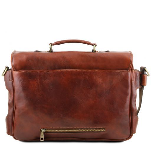 Ventimiglia Vegetable Tanned Leather TL SMART Briefcase_4