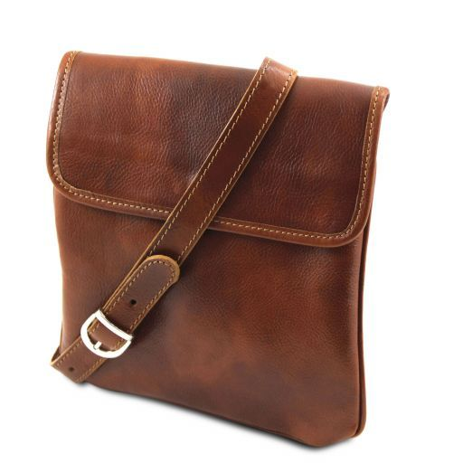 Joe Vegetable Tanned Leather Crossbody Bag _3