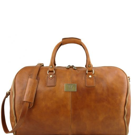 Antigua - Travel leather duffle/Garment bag_1