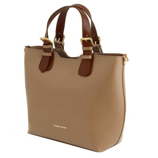 TL Saffiano Leather Tote_7