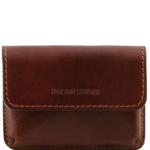 Full Grain Leather Business Cards Holder_1
